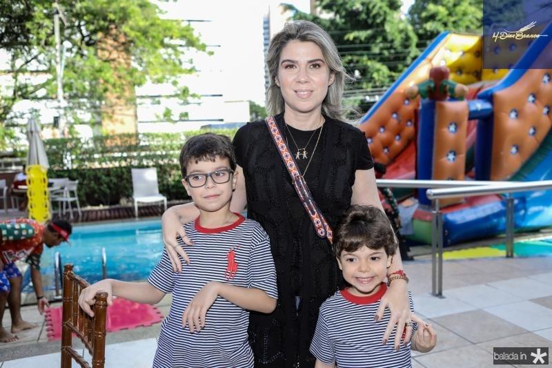 Davi, Daniele e Gabriel Pinheiro