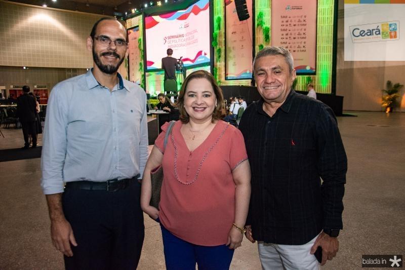 Amilton Quixada, Marcia Abreu e Francisco Sa