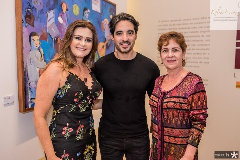 Ivana Bezerra, Rodrigo Porto e Lilia Quindere