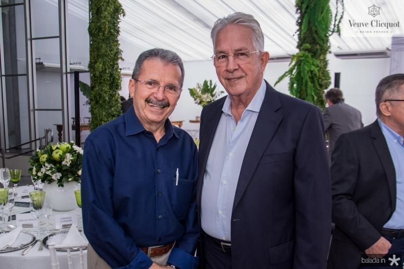 Egidio Serpa e Carlos Prado