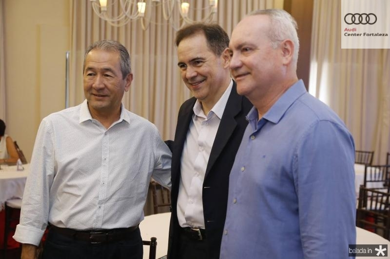 Coronel Rabelo, Luiz Antonio Rabelo e Savio Carvalho