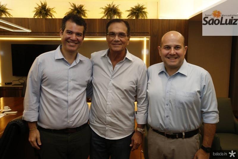 Felipe Cunha, Beto Studart e Roberto Claudio 1