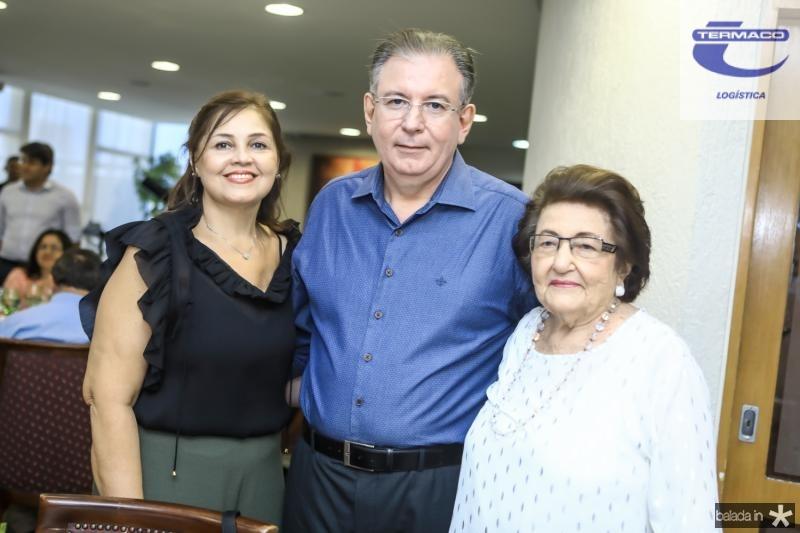 Rosangela, Ricardo e Holandina Cavalcante