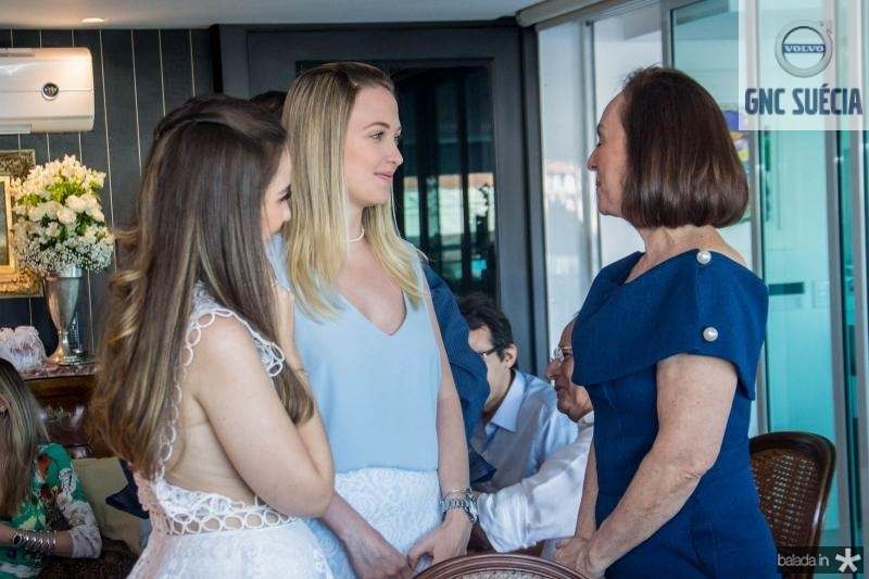 Manuela Câmara, Paula Solto e Goretti Moraes