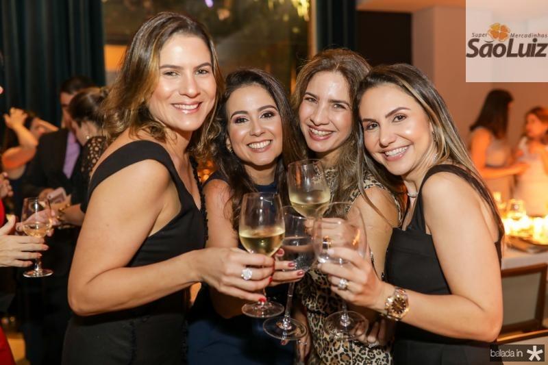 Luciana Borges, Claudiana Loureiro, Karmilse Marinho e Adriana Queiroz