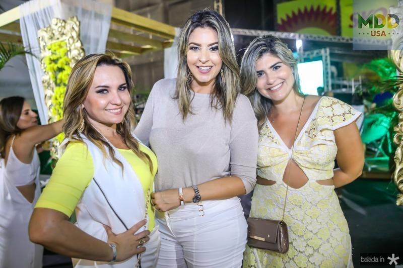 Socorro Medeiros, Carol Melo e Rafaela Fiuza