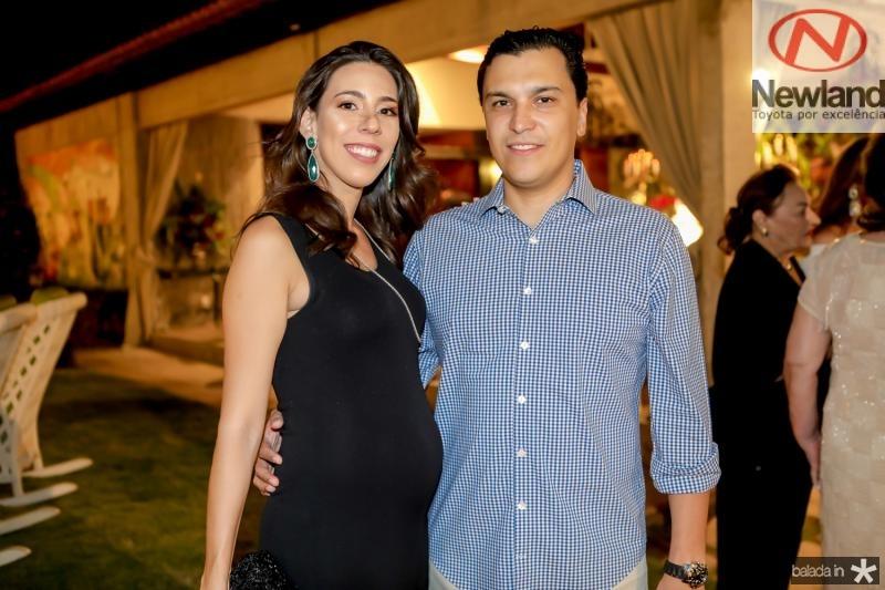Lara e Elano Pinheiro