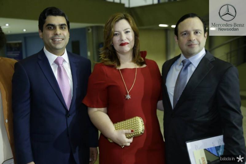 Queiroz Filho, Aline e Igor  Queiroz Barroso