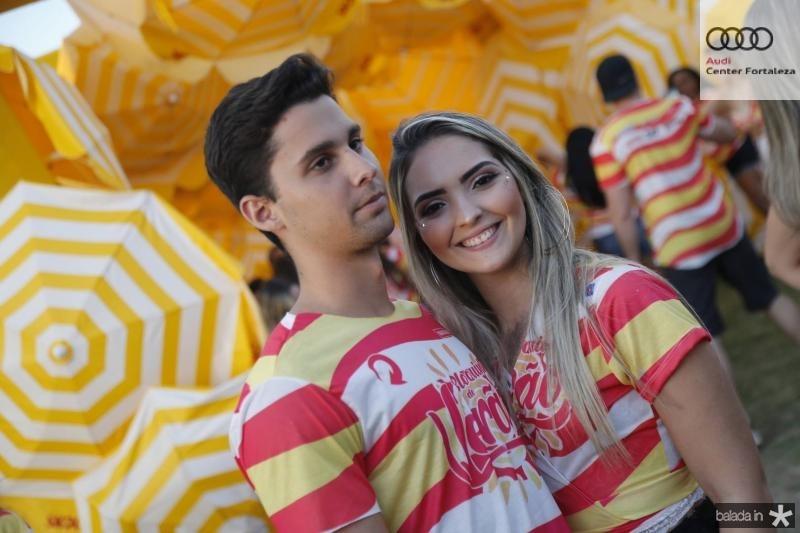 Igor Frota e Sabrina Santana