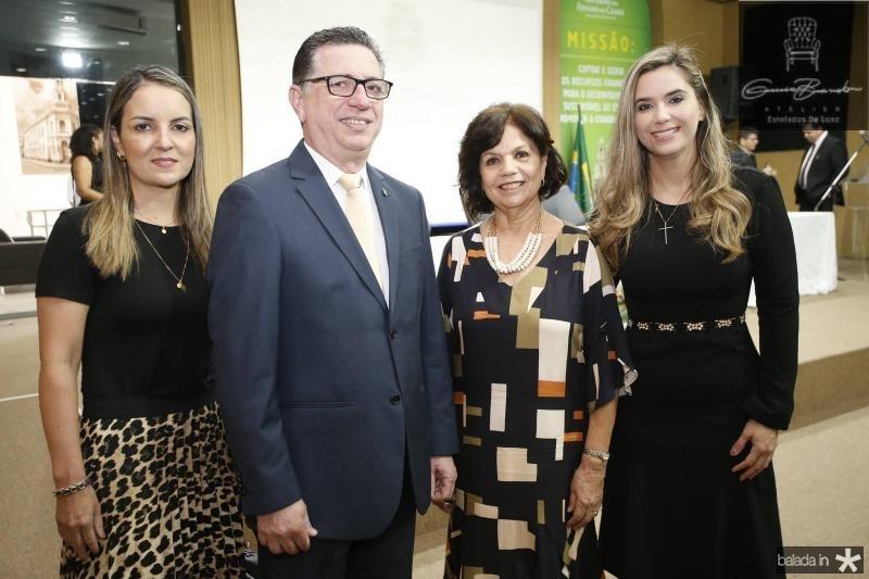 Raquel Vasconcelos, Flavio Juca, Candida Torres de Melo e Juliana Albuquerque