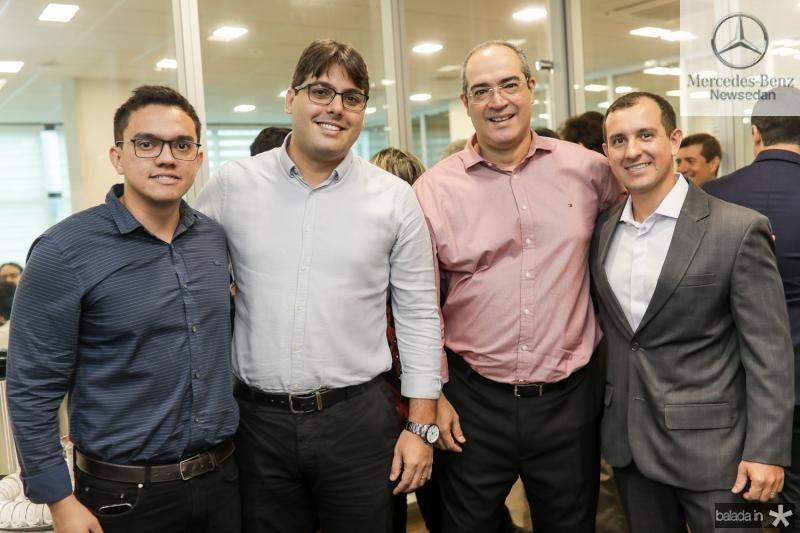 Jeferson Oliveira, Wanderson Cavalcante, Eduardo Cavalcante e Pablo Padilha