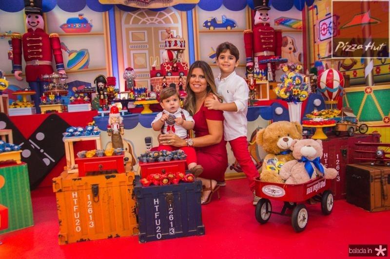 Lucas, Marina e Leozinho Albuquerque