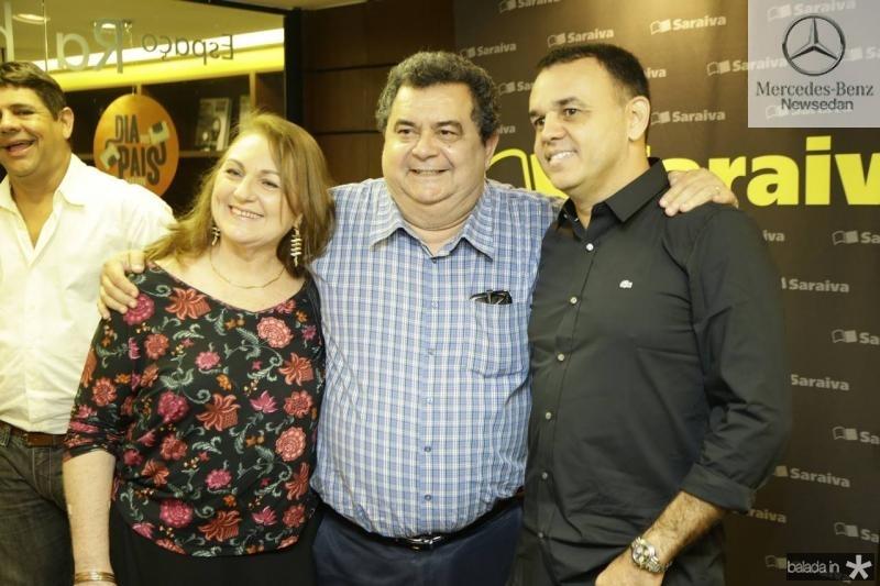 Maria do Carmo e Paulo de Tarso Lima e Edmac Trigueiro