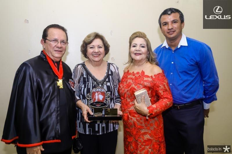 Jose Valdo, Joselia Almeida, Marta Peixe e Gutemberg Ferreira