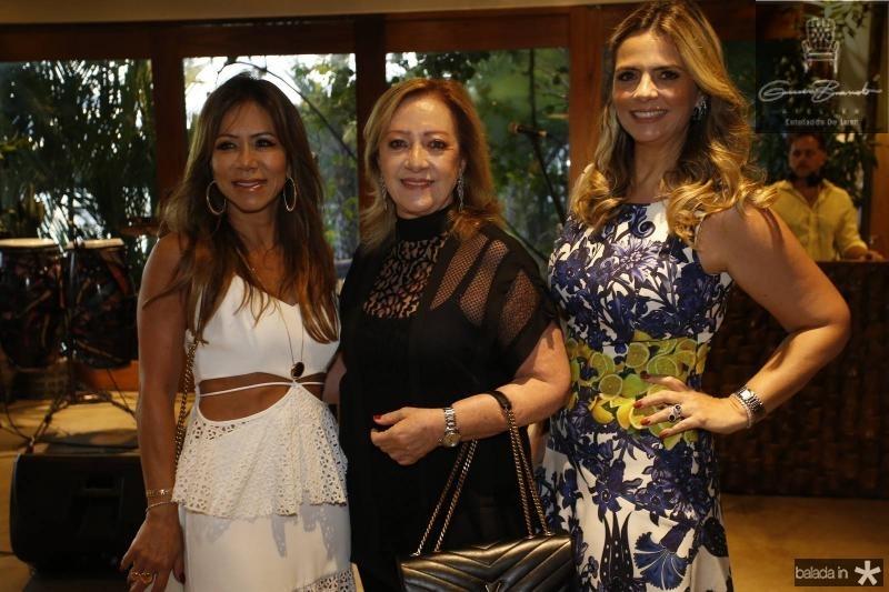 Sakie Brookes, Tania Teixeira e Tais Pinto 2