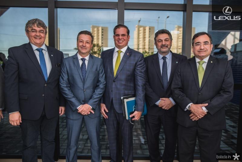 Ricardo Andrade, Fernando Alfredo Franco, Andre Pepitone, Oscar Cordeiro e Jardson Cruz