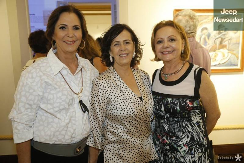 Olga Leite Barbosa, Neuma Figueiredo e Lurdinha Leite Barbosa