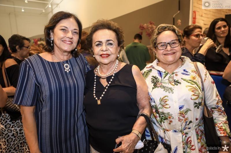Ana Studart, Eliane Castro e Celia Miranda