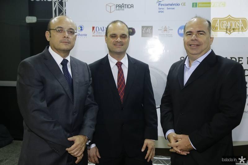 Adriano e Daniel Fiuza e Marcio Menezes