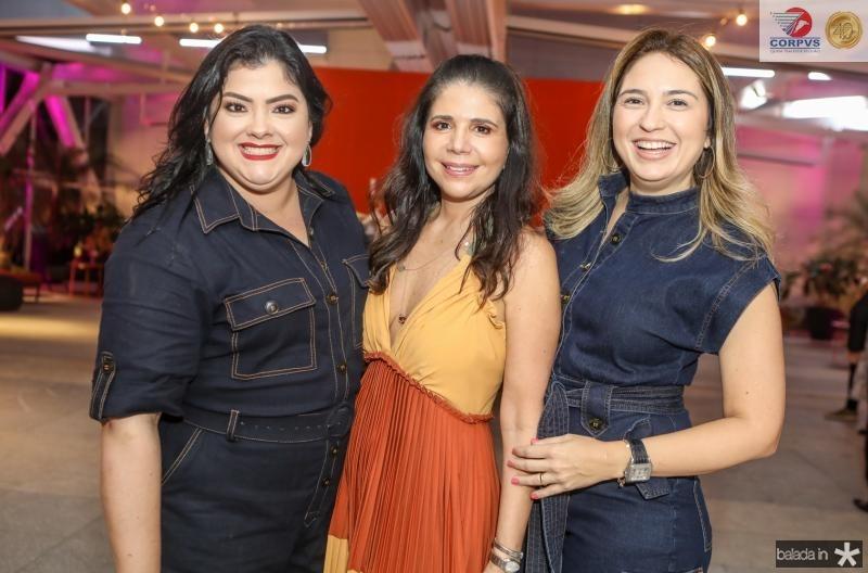Vivi Barreto, Maria Lucia Negrao e Marcela Camurça