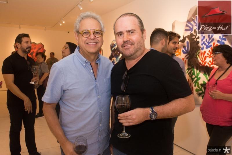 Marcal Barros e Roberto Pamplona