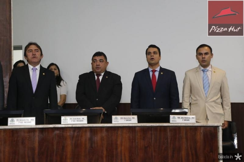 Adail Junior, Raimundo Filho, Gardel Rolim e Marcio Cruz