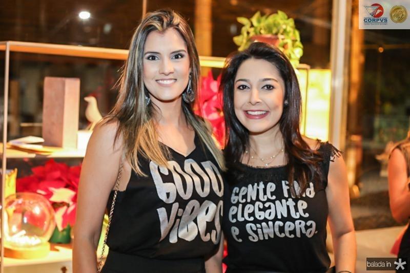 Licia Cardoso e Caroline Silveira
