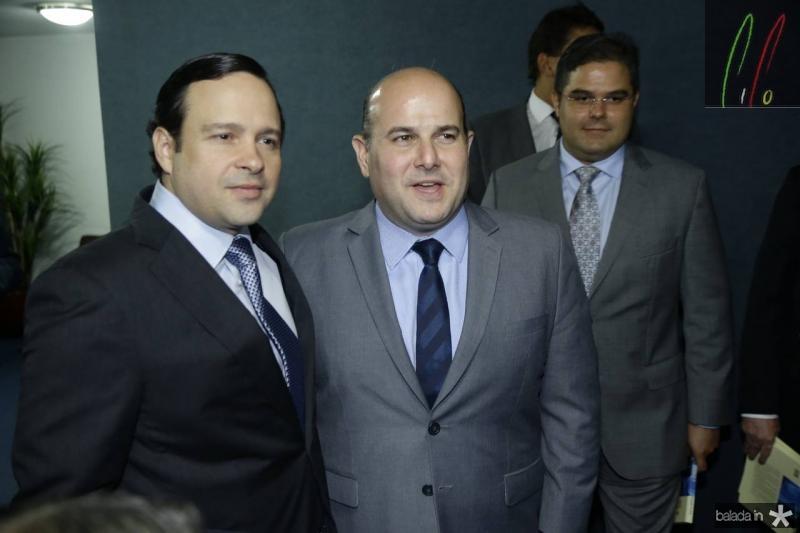 Igor Barroso e Roberto Claudio