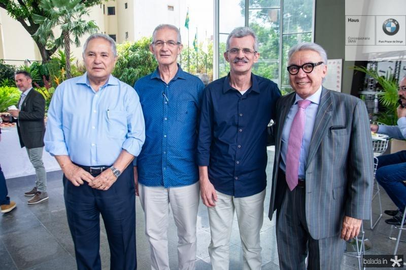 Roberto Otto, Dinalvo Diniz, Angelo Guerra e Arnaldo Celso