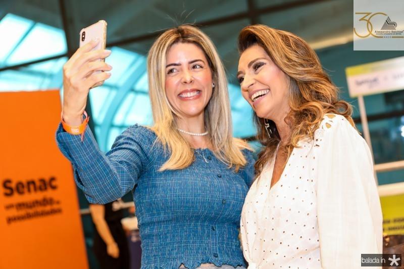 Diana Morinelli e Marcia Travessoni