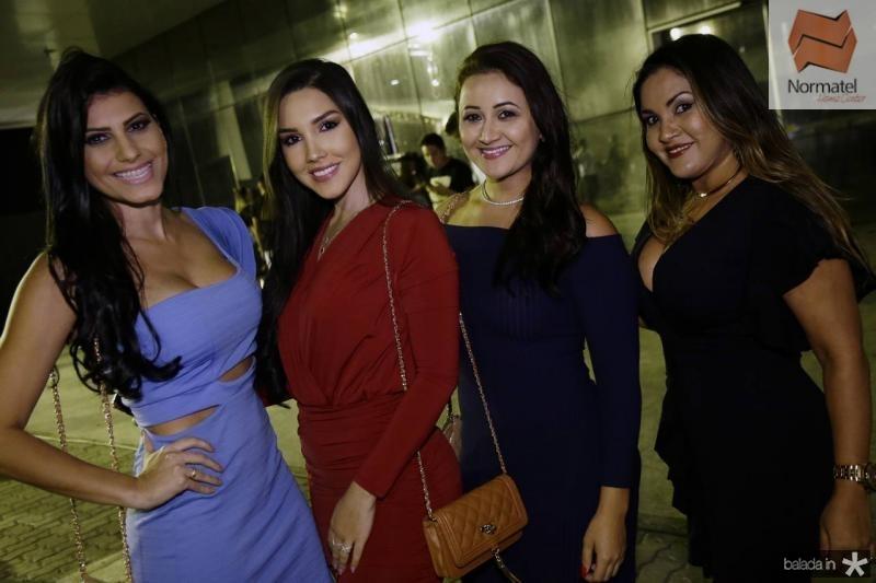 Samea Silva, Iorrana Falcao, Luziane Bezerra e Eliane Silva