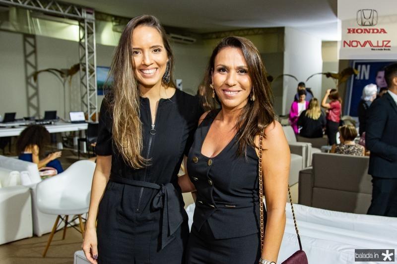 Giselle Bezerra e Samara Fernandes