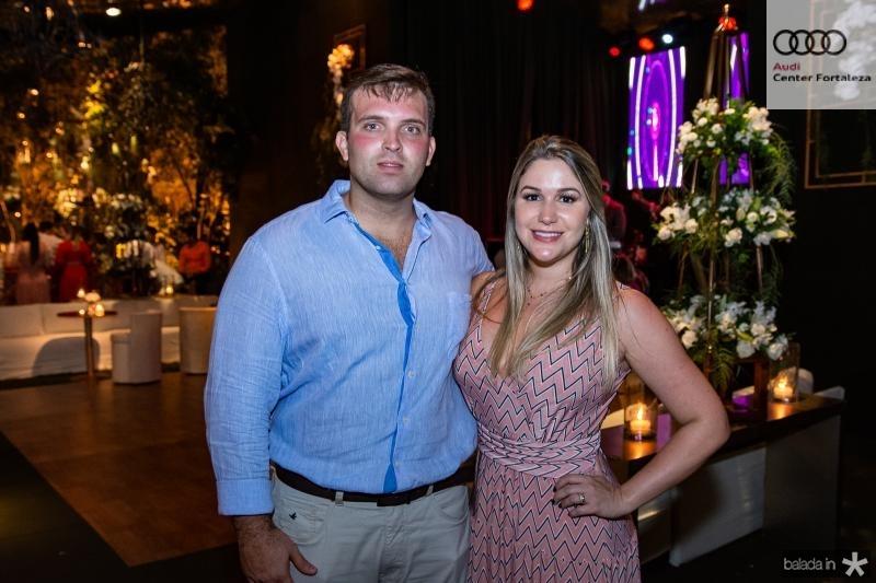 Rodrigo Leitao e Fernanda Macedo