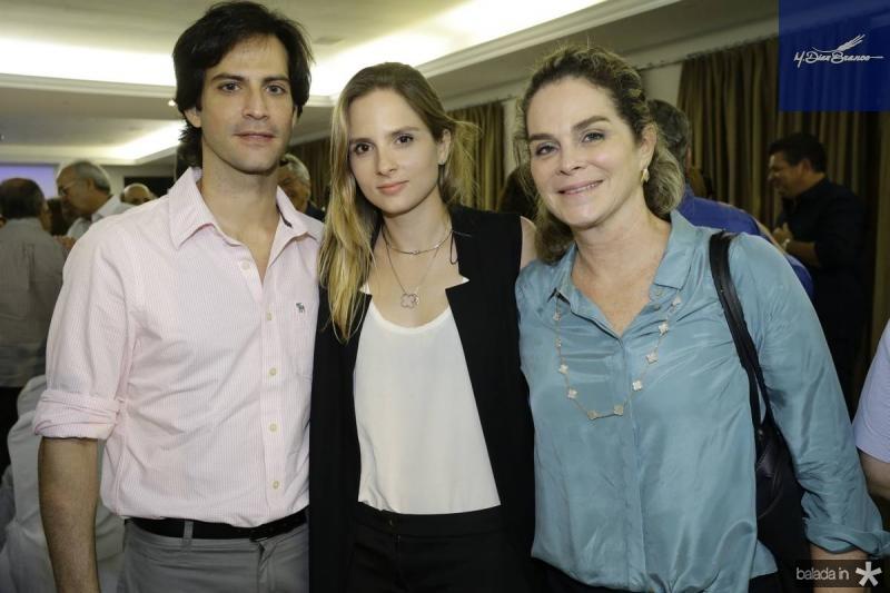 Paulo Mota, Ana Fiuza e Jaqueline Mota