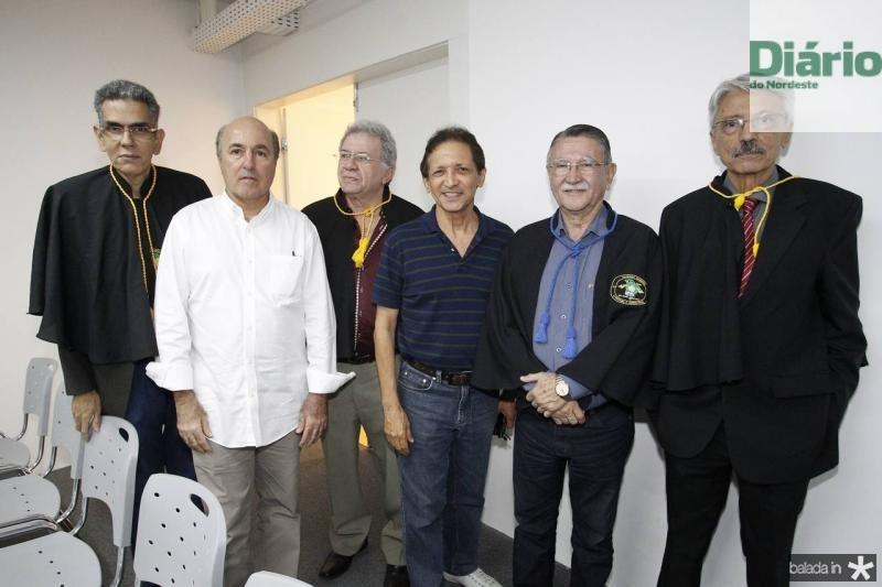 Savio Queiroz, Silvio Frota, Vicente Alencar, Djalma Pinto, Humberto Ellery e Rui Rodrigues