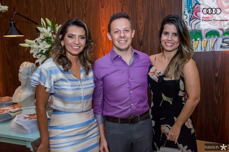 Marcia Travessoni, Joel Pivotto e Andrea Moreno