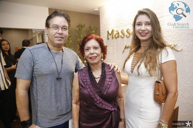 Jose Olavo, Emilce e Elaine Barros