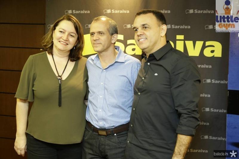 Fabricia e Mauro Soares e Edmac Trigueiro