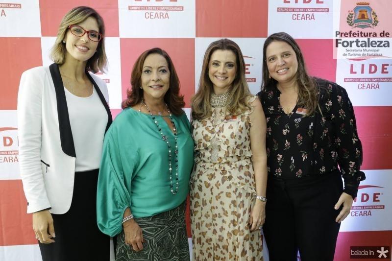 Marilia Fiuza, Sandra Costa, Emilia Buarque e Luciana Colares