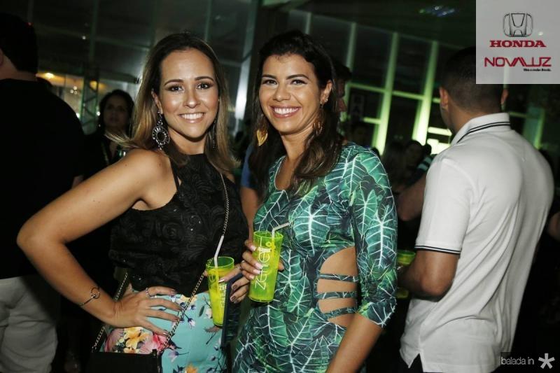 Tatiane Perez e Renata Lima