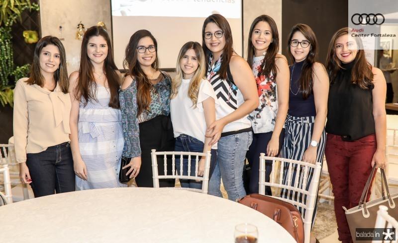 Barbara Ribeiro, Ianne Saboia, Thaiza Ricarte, Isadora Cartaxo, Victoria Loiola, Raquel Umbelino, Thamyres Araujo e Raianny Queiroz