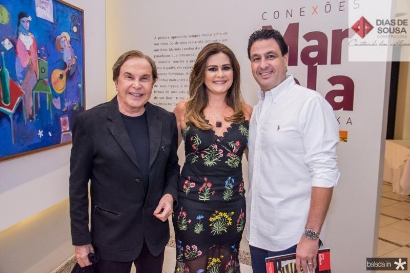Lazaro Medeiros, Ivana Bezerra e Alexandre Rangel
