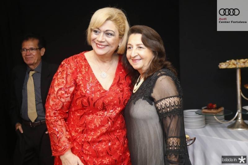 Priscila Cavalcante e Vera Correia