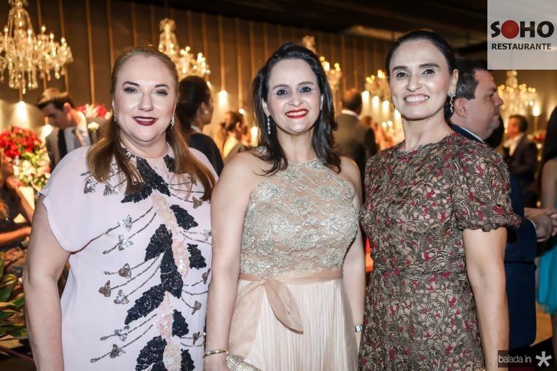 Luisiane Cavalcante, Adriana Miranda e Neuza Rocha