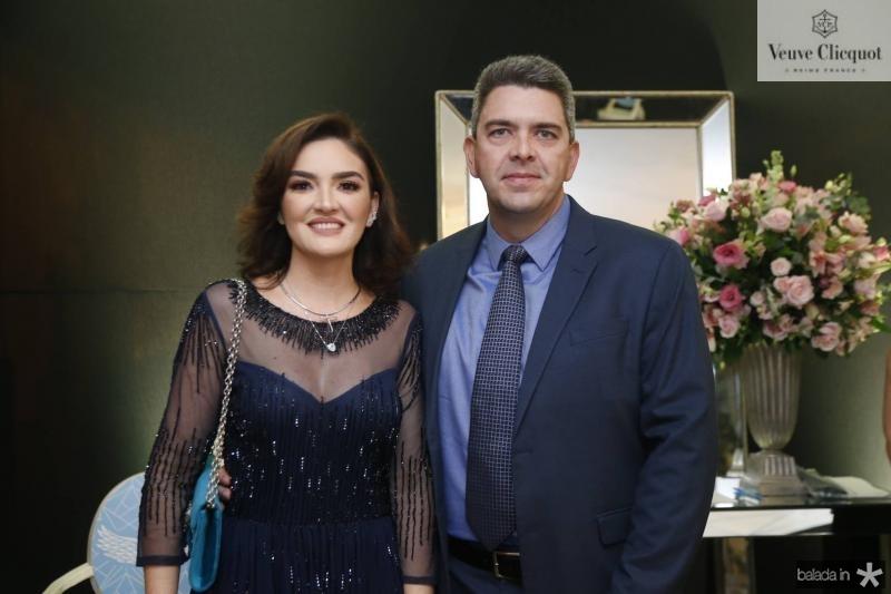 Andiara e Alexandre Carbage
