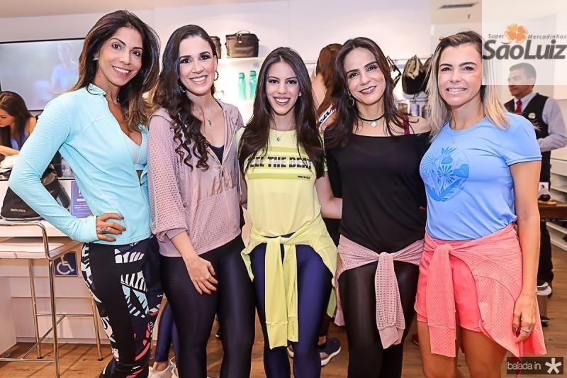 Synara Leal, Giuliana Botelho, Manuela e Sandra Rolim, Liliana Diniz