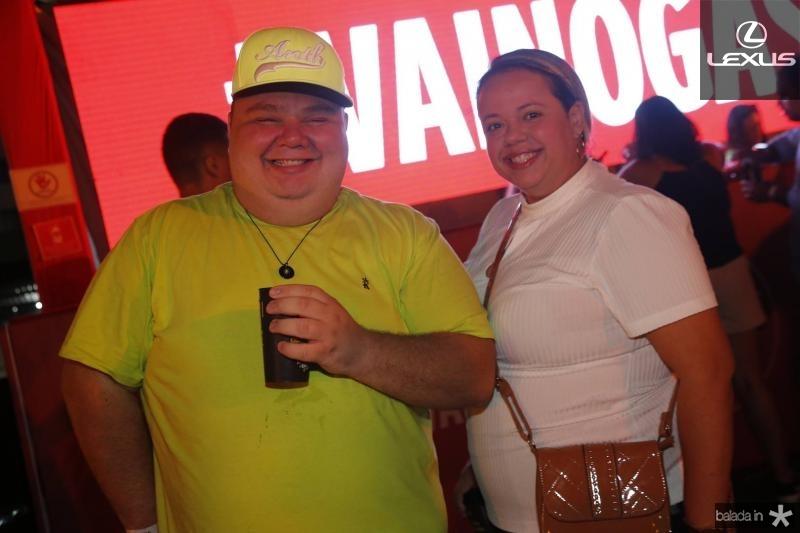 Renato Fontenele e Raquel Felix
