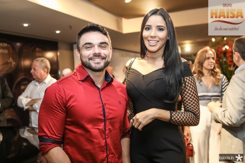 Daniel Viana e Niara Meireles