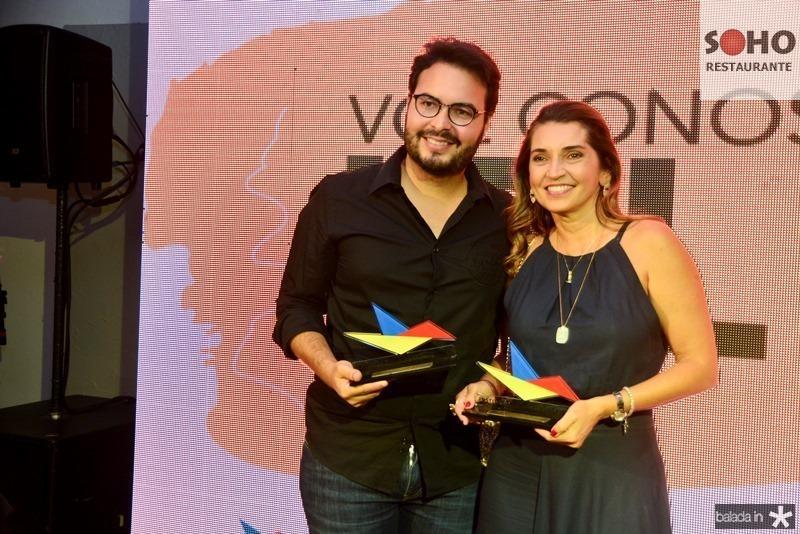 Vinicius Machado e Marcia Travessoni