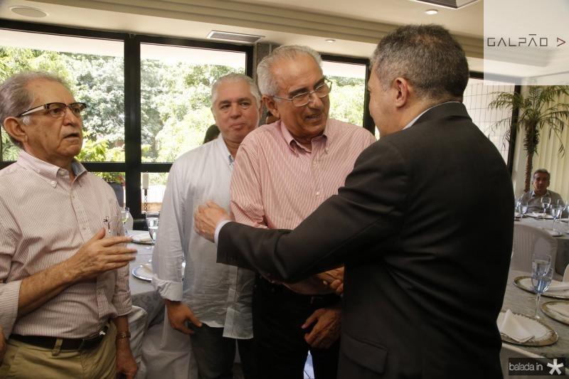 Joao Araujo Sobrinho, Oswaldo Vieira, Joao Bosco Macedo e Antonio Henrique